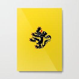 Vlaanderen Metal Print