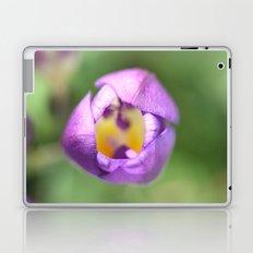 purple & yellow Laptop & iPad Skin