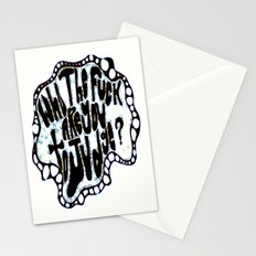 Who The fuck Are You To Judge? Stationery Cards