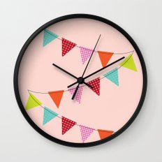 Hooray for girls! Wall Clock