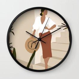 La Señorita Wall Clock
