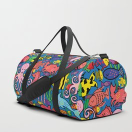Fishy Fishy Duffle Bag