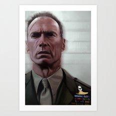 Eastwood / Heartbreak Ridge Art Print