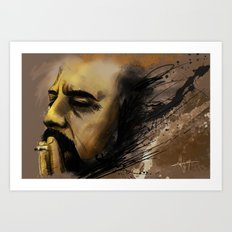 self portrait II Art Print