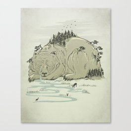 Hibernature Canvas Print
