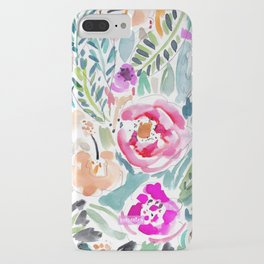 Walk in the Park Floral iPhone Case