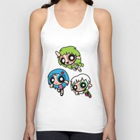 powerpuff girls Tank Tops featuring Girls Power by Danilo Machuca