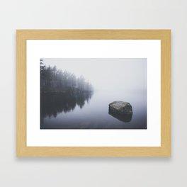 Morning blues Framed Art Print