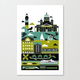 Helsinki Canvas Print