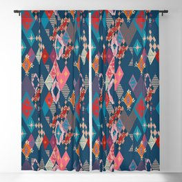 Circus_vintage Blackout Curtain