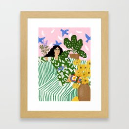 You Left Me Waiting Framed Art Print