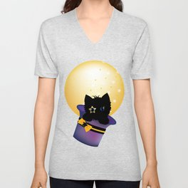 A trip to the moon Unisex V-Neck