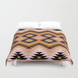 New Mexico in Blush Duvet Cover