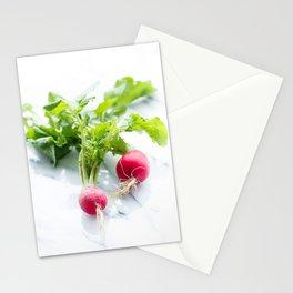 Spring Radishes Stationery Cards