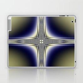 Fractal Cross Laptop & iPad Skin