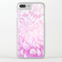 pastel pink bloom #society6 #buyart #homedecor Clear iPhone Case