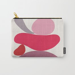 Scoop // Abstract in Pink Carry-All Pouch