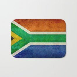 Flag of the Republic of South Africa Bath Mat