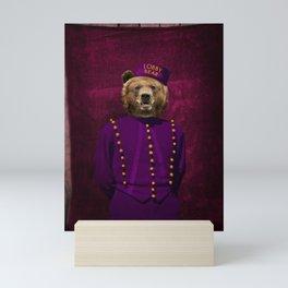 Lobby Bear Mini Art Print