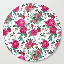 Fall Floral / Autumn flowers Cutting Board