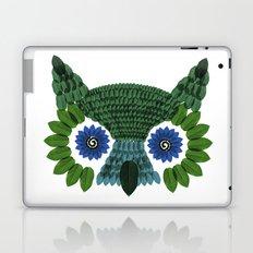 So Many Leaves = 1 Owl (Green) Laptop & iPad Skin
