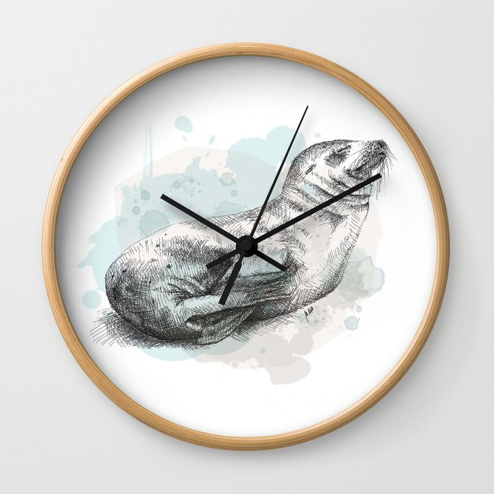 Seal Wall Clock