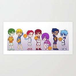Kuroko no Basket Art Print