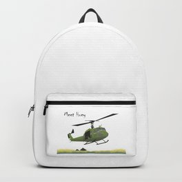 Huey Helicopter in Vietnam Backpack