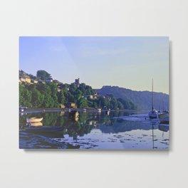 L'Heure Bleue at Noss Mayo Metal Print