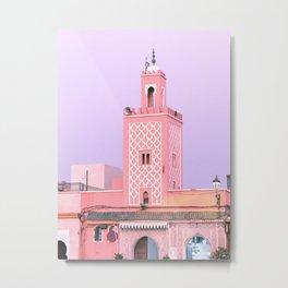 Marrakech Medina - Traditional Morocco Photography Metal Print