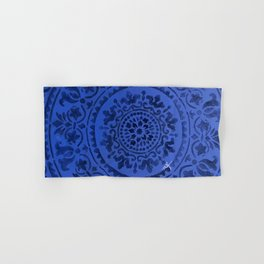 Sapphire Mandala Hand & Bath Towel