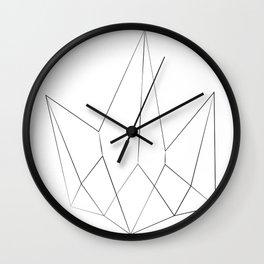 Kryptonite Minimal Art Wall Clock