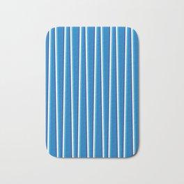 Between the Trees - Blue, Cerulean & Navy #401 Bath Mat