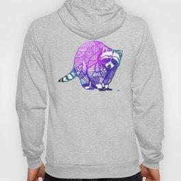Zentangle Raccoon  Hoody