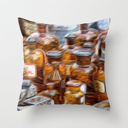 Flea Market Heroes VIII Throw Pillow