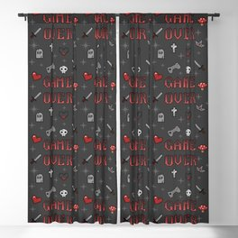 Game Over Blackout Curtain