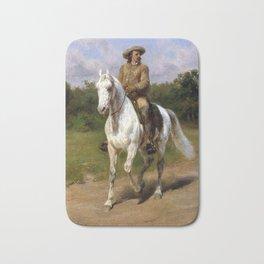 Rosa Bonheur Col. William F. Cody (Buffalo Bill) Bath Mat