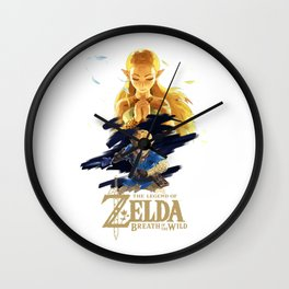 Zelda Breath of the Wild - The Silent Princess Wall Clock