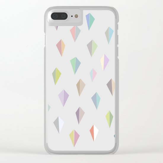 Nordic Combination 9 Clear iPhone Case