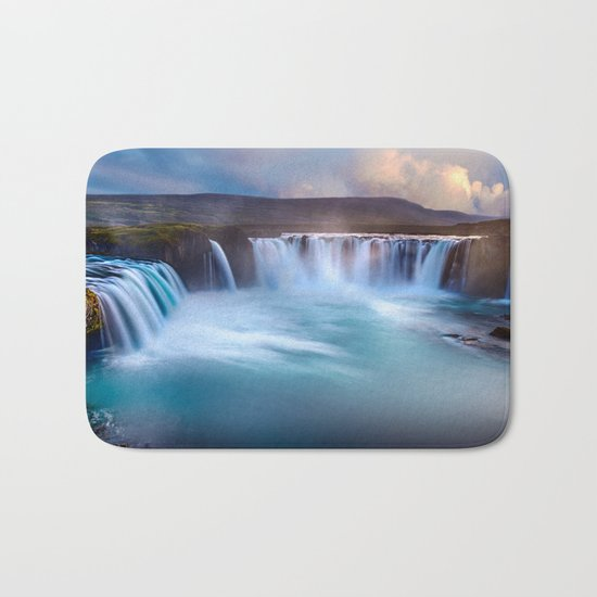 Chasing Waterfalls Bath Mat