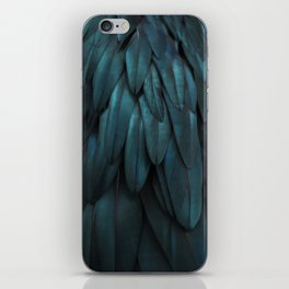 DARK FEATHERS iPhone Skin
