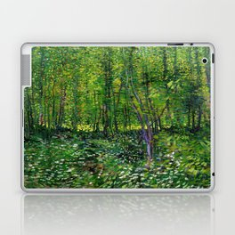 Vincent Van Gogh Trees & Underwood Laptop & iPad Skin