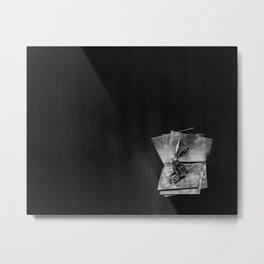 bookish Metal Print