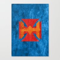 he man Canvas Prints featuring He-Man by Some_Designs