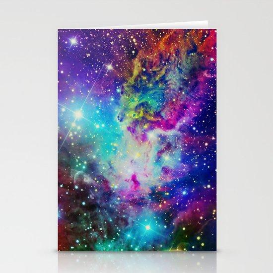 Fox Nebula Stationery Cards