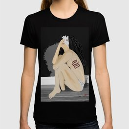 Breathing out of water T-shirt