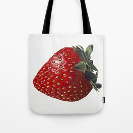 A Strawberry, Out of the Universe Tote Bag