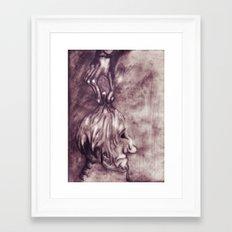 &fume Framed Art Print
