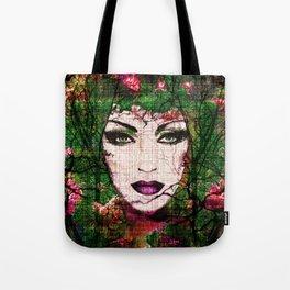 Forest Goddess by Lika Ramati Tote Bag