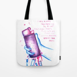 SMOKING IS BAD FOR YOU - Equilibrium Tote Bag